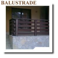 balustrade lemn