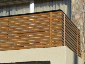 balustrada lemn BA001