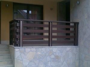 balustrada lemn BA004