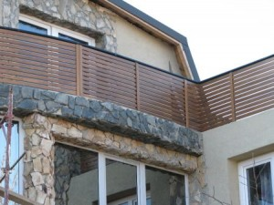 balustrada lemn BA007