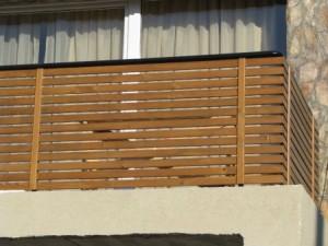 balustrada lemn BA008